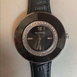 Swarovski Octea Dressy Black Watch